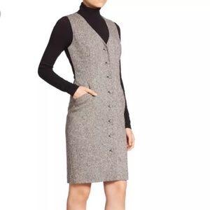 [DVF] Gilet Lace Vest Tweed Dress